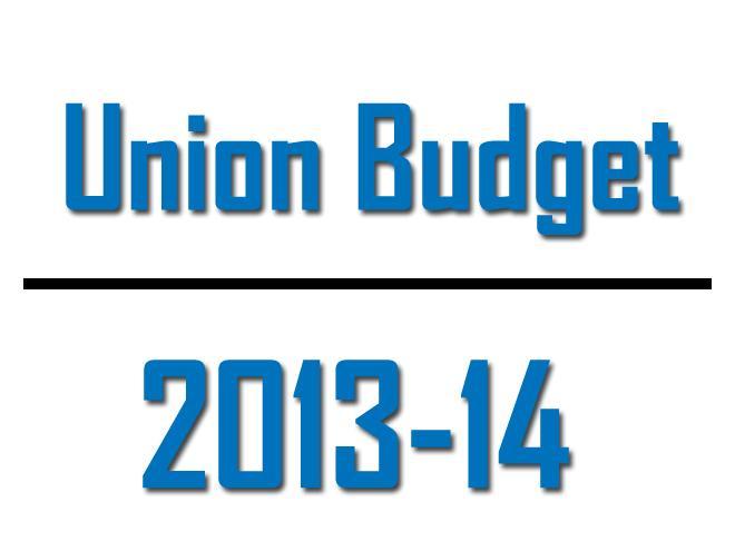 india s union budget 2013 14